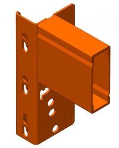 Box Type Pallet Rack Beam