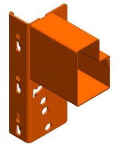 Step Type Pallet Rack Beam
