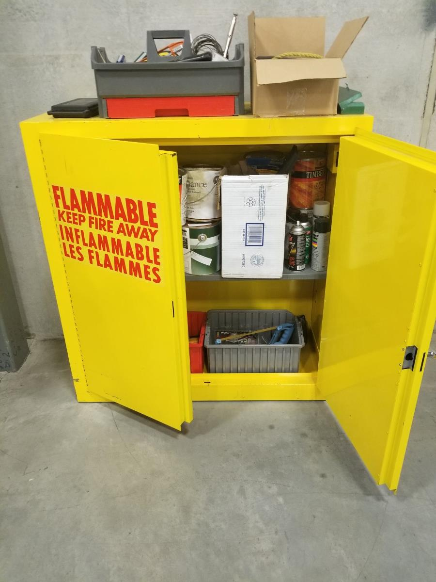Flamible-cabinet