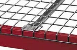 Pallet Rack Wire Decking - Standard Flange Support